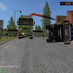 Rettungsmission vom Versorgungstruck