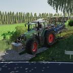 Bodenbearbeitung mit dem Fendt 820 Vario TMS