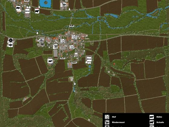 Stappenbach - Übersichtskarte