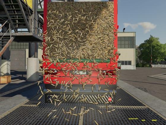 Zuckerrohr 60.000 Liter