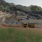 Arbeiten im Steinbruch