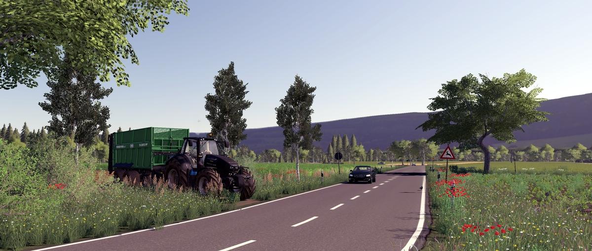 Mist Fahren im Mühlenkreis