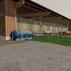 .... und schon hat der Kuhstall eine eigene Wasserzuleitung!!!