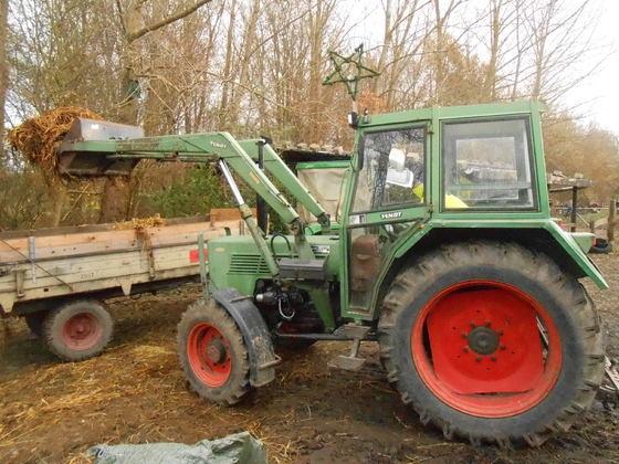 Mistfahren mit Deutz d3006 und Fendt Farmer 103sa