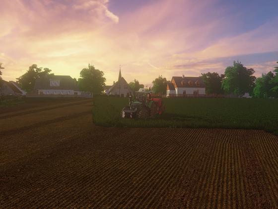 Sonnenuntergang im schönen Stappenbach :)