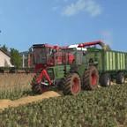 Fendt 615 LSA am Getreidefahren