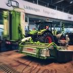 Claas Axion von der Agritechnika