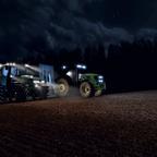Nachtaktive Hirsche