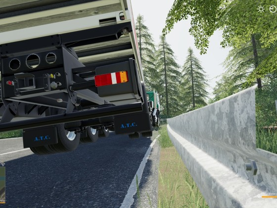 Kollisionproblem mit ATC-Container