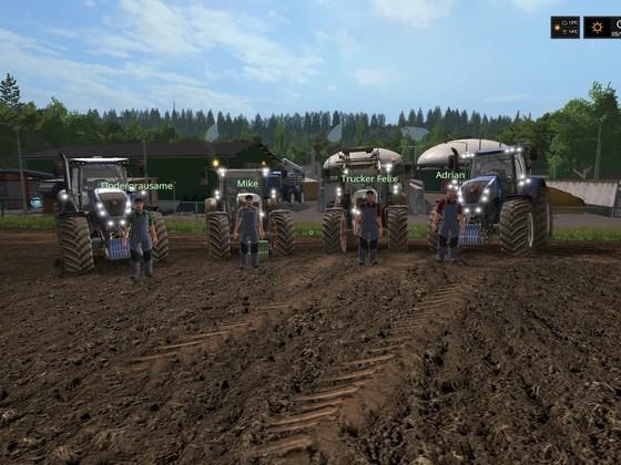 Mais auf der Stappenbach
