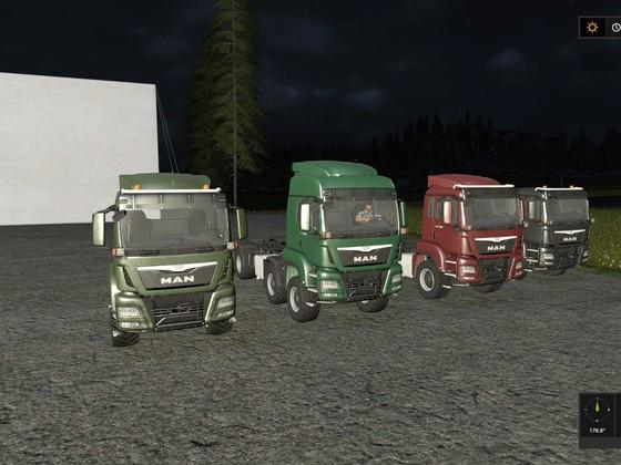 Vorschau V3 - Gruppenbild neue Beispiel LKWs
