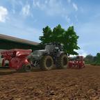Warten aufem Landwirt das er Saatgut liefert