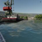 Anlegeplatz am Hafen