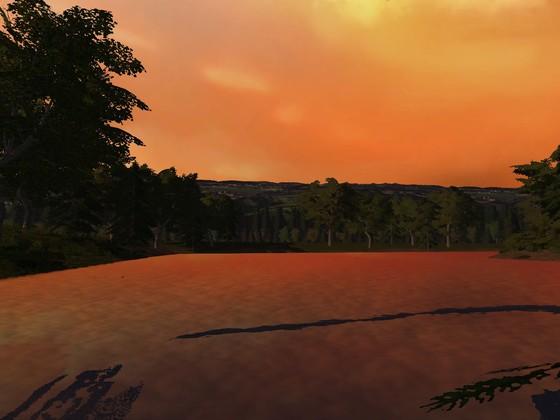 Sonnenuntergang in Stappenbach