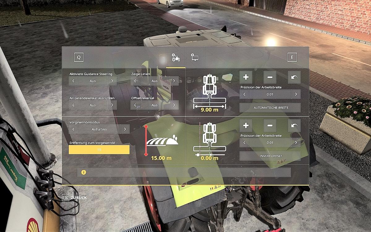 Guidance Steering by Wopster GPS Siehe Update-