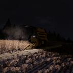 in der nacht noch ein bisschen gerste Dreschen